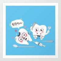 SM Tooth Art Print
