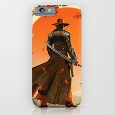 Cowboy with Ninja Sword iPhone 6 Slim Case