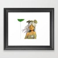 Les Dis (Blanc) Framed Art Print