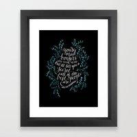 Bonkers Framed Art Print