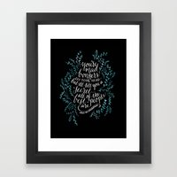 Bonkers Framed Art Print