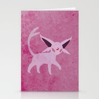 Espeon Stationery Cards