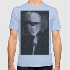 Karl Lagerfeld Star Futurism Limited Mens Fitted Tee Athletic Blue SMALL