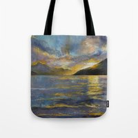 New Zealand Sunset Tote Bag