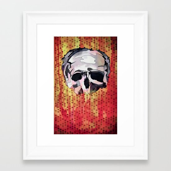 Skully. Framed Art Print