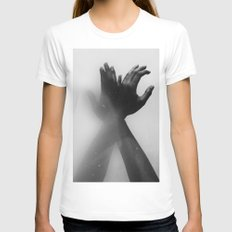 Fate Womens Fitted Tee White SMALL