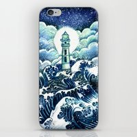even in the darkest night light will prevail iPhone & iPod Skin