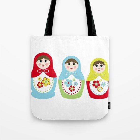 Matrioshka Dolls - Trio Tote Bag