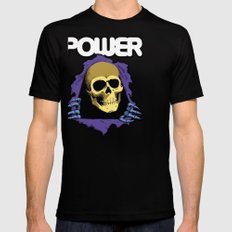 The POWER of Greyskull - He-Man Black SMALL Mens Fitted Tee