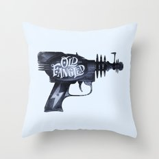 Old Fangled Throw Pillow
