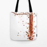 Splattered Tote Bag