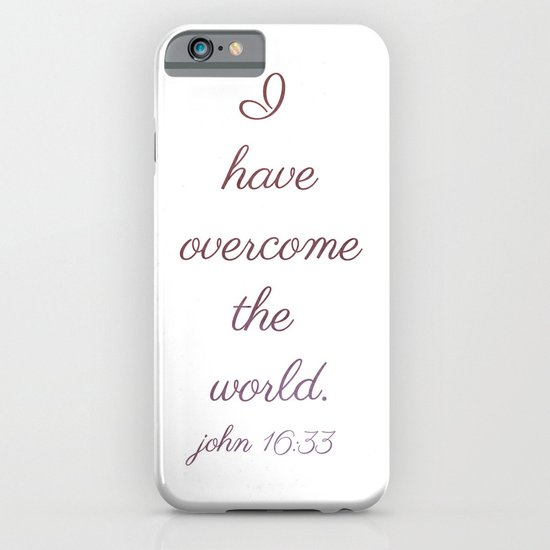 I Have Overcome the World iPhone & iPod Case