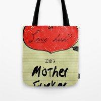 Love Huh? Tote Bag