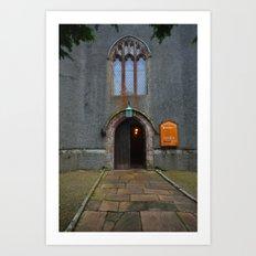 St Cuthberts Church Art Print