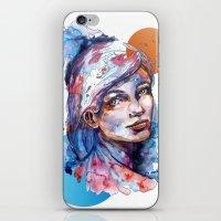 Sophia By Carographic iPhone & iPod Skin