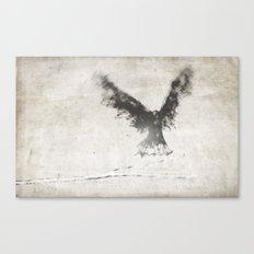 trembling the birch Canvas Print