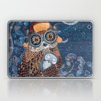 Owl and baby owlet Laptop & iPad Skin