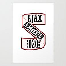 AJAX AMSTERDAM 020 Art Print