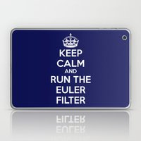 Keep Calm and Run the Euler Filter Laptop & iPad Skin
