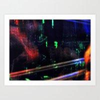 Abduct 5 Art Print