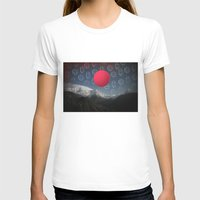 Space Japan Womens Fitted Tee White SMALL