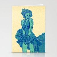- summer marilyn - Stationery Cards