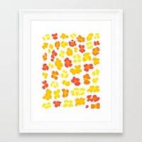 Leopard Print Framed Art Print