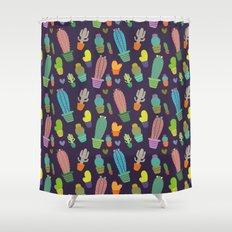 Cactus pattern  Shower Curtain