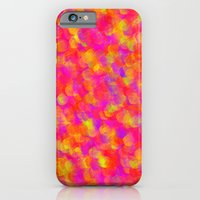 iPhone & iPod Case featuring Yellow and Red by ParadiseApparel