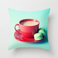 The Fuel That Gets Me Going Throw Pillow