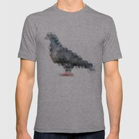triangular pigeon. Mens Fitted Tee Athletic Grey SMALL
