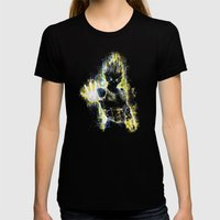 The Prince of all fighters Womens Fitted Tee Black SMALL