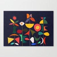 Klee's Garden Canvas Print