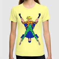 Kenzo Pop Art Womens Fitted Tee Lemon SMALL