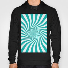 Swirl (Tiffany Blue/White) Hoody