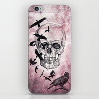 The Crows of Death iPhone & iPod Skin