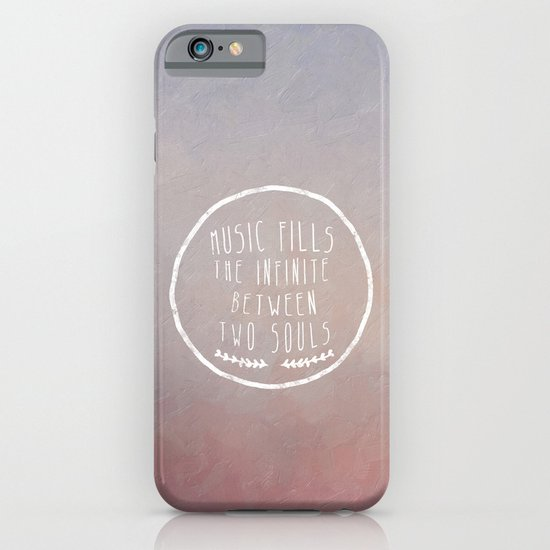I. Music fills the infinite iPhone & iPod Case