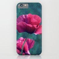 Pink Poppyfield iPhone 6 Slim Case