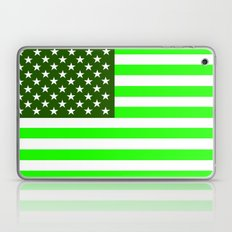 united states america green flag ecology Laptop & iPad Skin