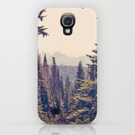 Mountains Through The Tr… Galaxy S4 Slim Case
