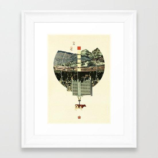 Waltz for Koop Framed Art Print