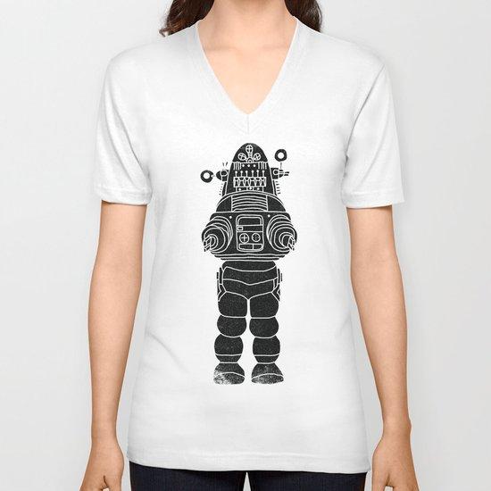 ROBBY THE ROBOT V-neck T-shirt