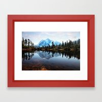 Mt Shuksan Framed Art Print