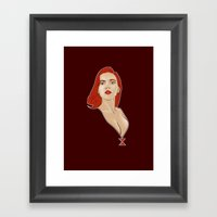 Widow Framed Art Print