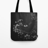 butterfly & phlox Tote Bag