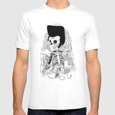 Dead Famous - Elvis Mens Fitted Tee White SMALL