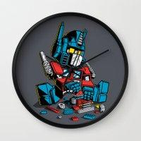AUTOBLOCKS Wall Clock