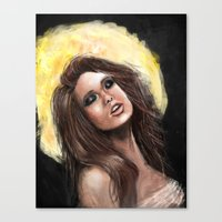 Gold Lust Canvas Print