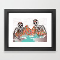 Spectres Framed Art Print