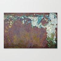 Paint Mosaic Canvas Print